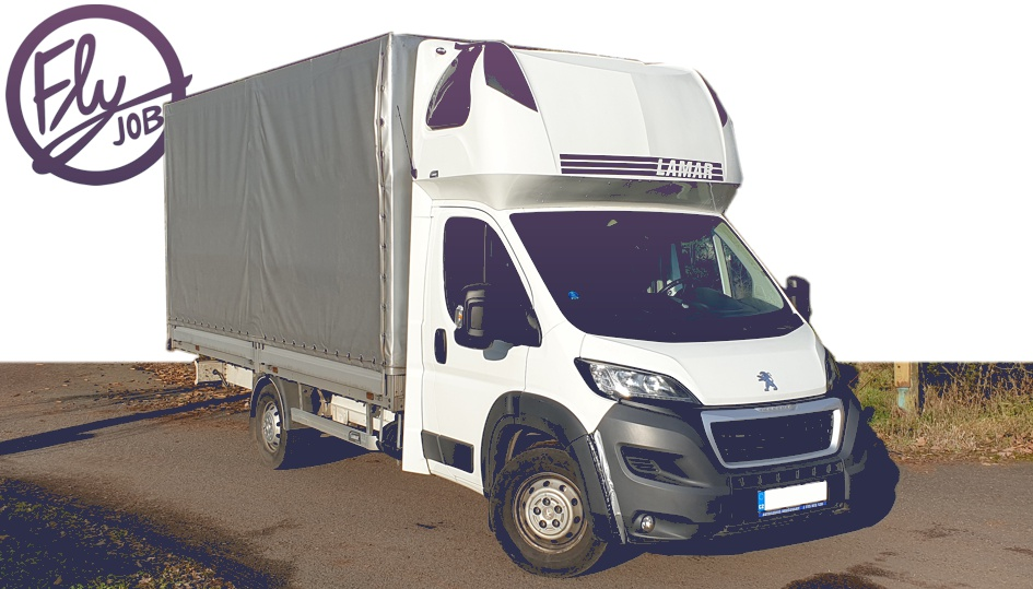 Peugeot Boxer plachta - Fly job s.r.o.