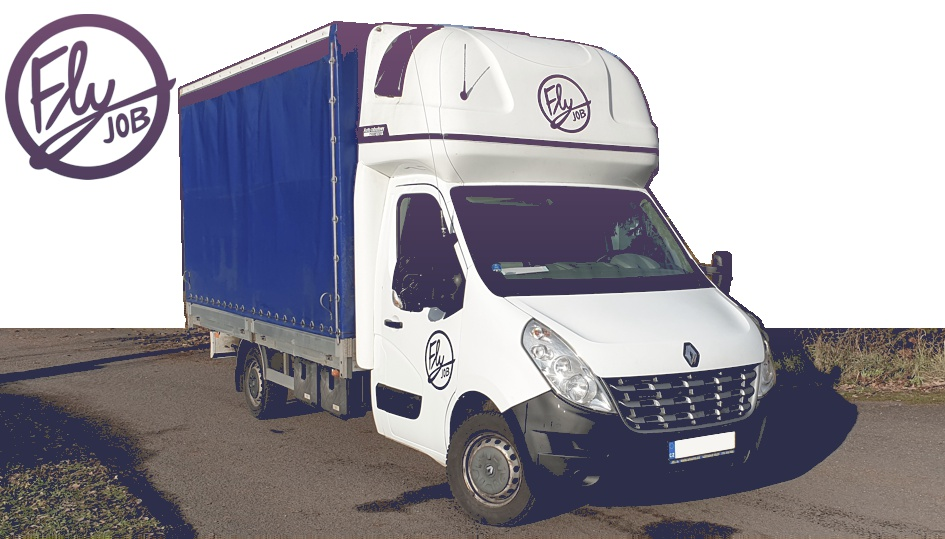 Renault Master plachta - Fly job s.r.o.